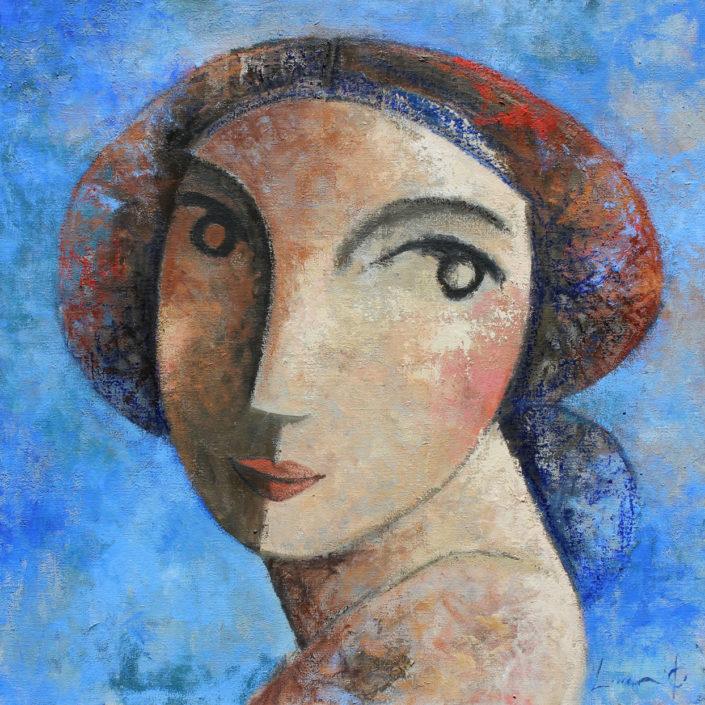visage-sur-bleu-60-x-60-cm