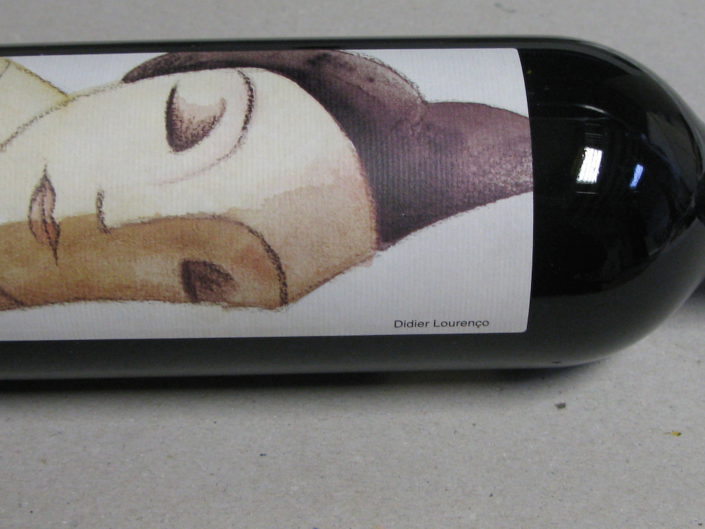 Label wine  Clos Galena