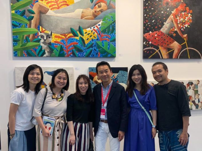 Affordable Art Fair HK. The State of the Arts Gallery. May 2019. Hong Kong