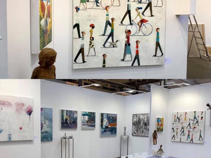 Affordable Art Fair Stockholm. Anquin's Gallery. October 2019. STOCKHOLM