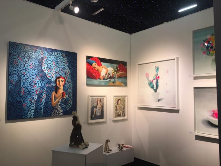 Affordable Art Fair Uk. Strange Tracey Gallery. October 2019. London