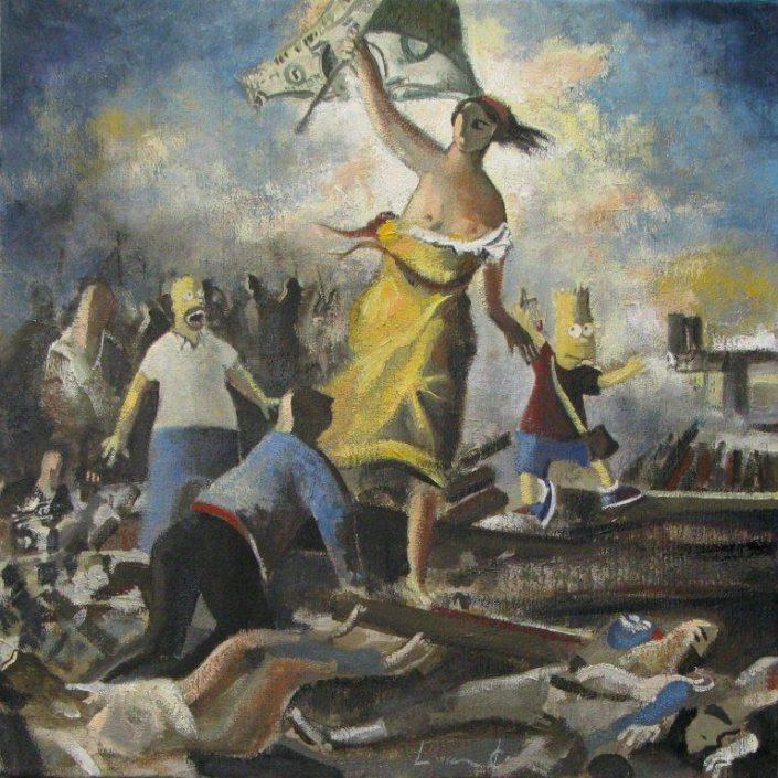 Divertimento-Delacroix-Liberte-guiando-al-pueblo-40-x-40-cm