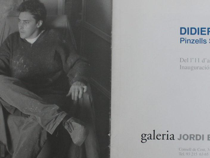 Pinzells silenciosos. Galería Jordi Barnadas, Barcelona. 2002