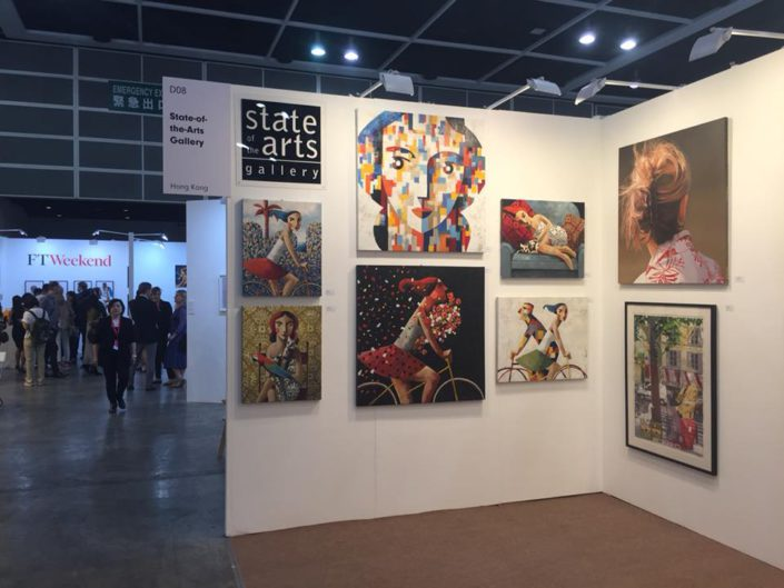 Affordable Art Fair. State of the Arts Gallery. May 2018. Hong Kong