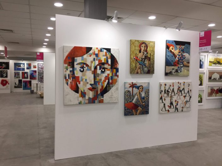 Affordable Art Fair. The State of the Arts Gallery. November 2018. Singapore