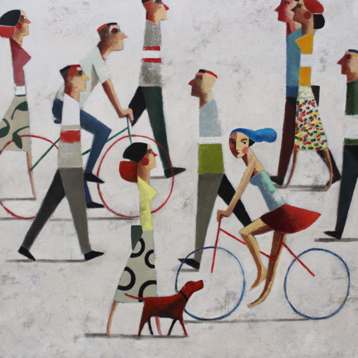 I want a bike 100 x 100 cm